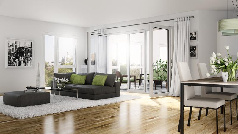 eigentumswohnungen. Black Bedroom Furniture Sets. Home Design Ideas